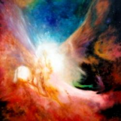 Nebula Orion Oil on canvas (70cmx50cm)  Price  10002